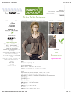 NaturallyCaron.com :: Lobito Jacket
