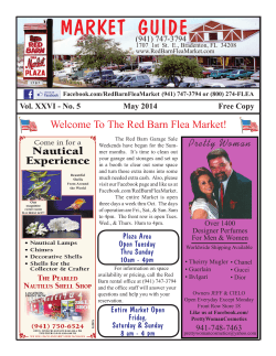 market guide here - Red Barn Flea Market