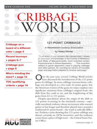 Cribbage World - American Cribbage Congress