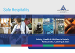 Part 1 of Safe Hospitality - Health and Safety Authority
