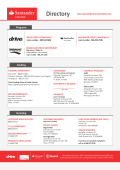 Dealer Contact Sheet - Santander Consumer USA