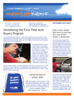 Introducing the First Time Auto Buyers Program - Stark Federal