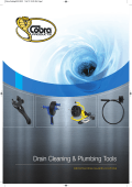 Drain Cleaning Plumbing Tools - Cobra Products