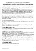 Sanitary Regulations for Salons and Schools - Georgia Secretary of