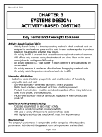chapter 3 systems design: activity-based costing - Harper College