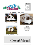 Universal Owners Manual - Chalet RV