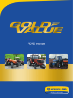 FORD tractors - New Holland
