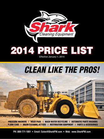 2014 Price list - Summit Sales