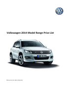 Model Price List - Volkswagen Ireland