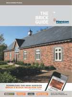 THE BRICK GUIDE - HeidelbergCement