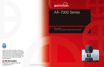 AA-7000 Series - Shimadzu