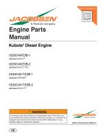 Engine Parts Manual - Jacobsen
