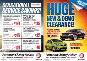 $194 $225 $125 $32 $135 $75 - Patterson Cheney