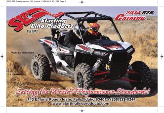 #14-1 2013 RZR Catalog version 13-2_Layout 1 2/24/2014 6:51 PM