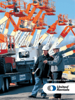 2005 annual report - United Rentals