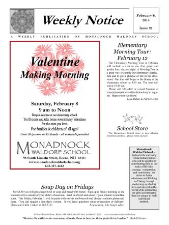 Click - Monadnock Waldorf School
