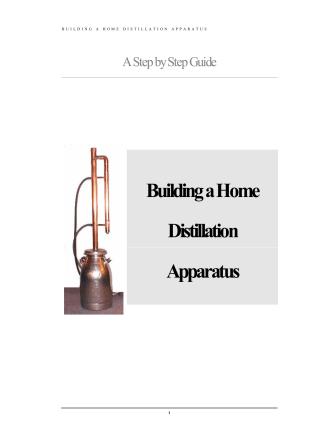 Building a Home Distillation Apparatus - Erowid
