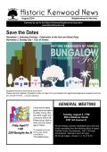 Save the Dates - Historic Kenwood