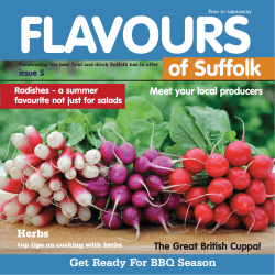 of Suffolk - flavoursofbritain.co.uk