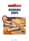 MARKING KNIFE - Woodsmith Shop
