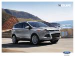 2014 Ford Escape Brochure - ClickMotive