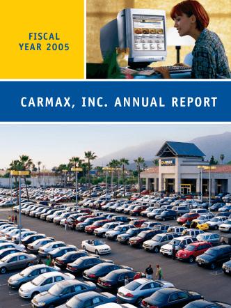 CARMAX, INC. ANNUAL REPORT