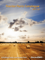 Tractor Parts Catalogue - Harvestaire