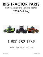 2013 Catalog - Big Tractor Parts