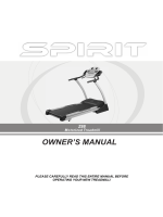 Z88 Treadmill Owners Manual - 2006 - Spirit Fitness
