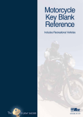 Motorcycle Key Blank Reference - Kaba Ilco