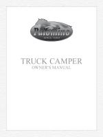 TRUCK CAMPER - Palomino RV