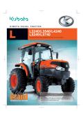 Kubota L40 Brochure