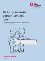 Helping measure person-centred care.pdf - Health Foundation