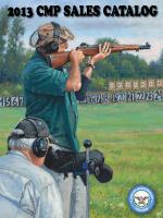 2013 CMP SALES CATALOG - Civilian Marksmanship Program