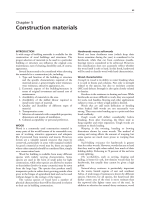 Construction materials - Food and Agriculture Organization of the
