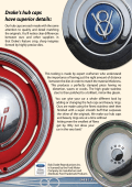 Drakes hub caps have superior details: - Bob Drake