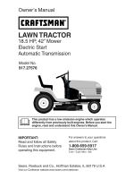 LAWN TRACTOR - Sears