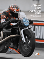 SCREAMIN PRO RACING PARTS EAGLE® - Harley-Davidson