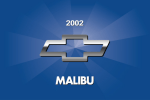 2002 Chevrolet Malibu Owners Manual - GM Canada