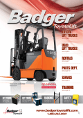 toyota lift trucks used lift trucks rentals parts dept - Badger ToyotaLift