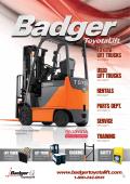 toyota lift trucks used lift trucks rentals parts dept - Badger ToyotaLift