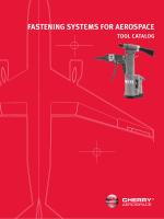 Tooling Catalog - Cherry Aerospace