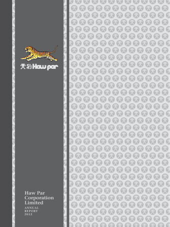 Annual Report 2012 - Haw Par Corporation Limited
