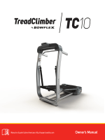 TC10 Treadclimber Owners Manual - Flaman Fitness