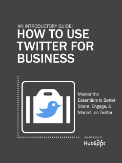 how to use twitter for business.pdf - 310k Internet Solutions Ltd