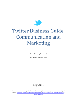 Twitter Business Guide: Communication and Marketing - bab.la blog