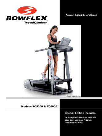 Bowflex TC5300/6000 Owners Assembly Manual - Nautilus