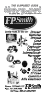 Heavy Equipment Parts Network - The Suppliers Guide