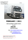 Volvo Catalogue - european truck parts