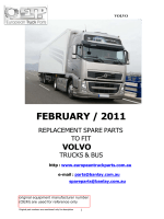 Volvo Catalogue - european truck parts